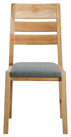 Pair Of Sola Scandinavian Oak Dining Chair