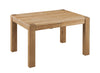 Image of Sola Scandinavian Oak Small Extending Table