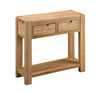 Image of Sola Scandinavian Oak Console Table