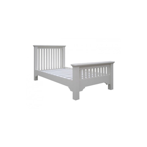 Aspen White Painted 3ft High Foot Bed