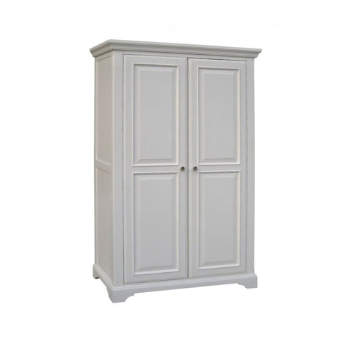 Aspen White Painted Full Hanging Wardrobe