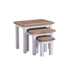 Cadiz Oak and Pine Nest of Tables