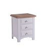 Image of Cadiz Oak and Pine Three Drawer Bedside