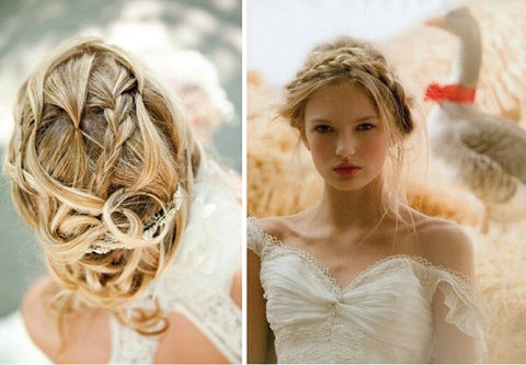 boho wedding style perth upstyle formal ball Subiaco claremont braids