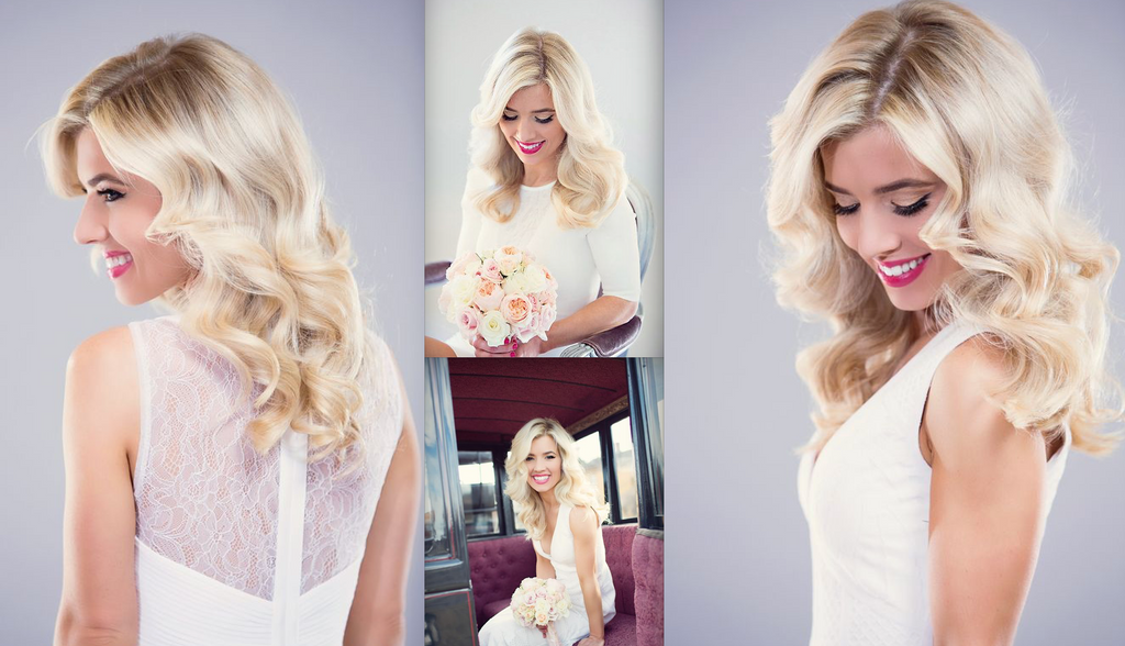 Bridal Formal Premium Hair Extensions Wedding Hair Salon Perth