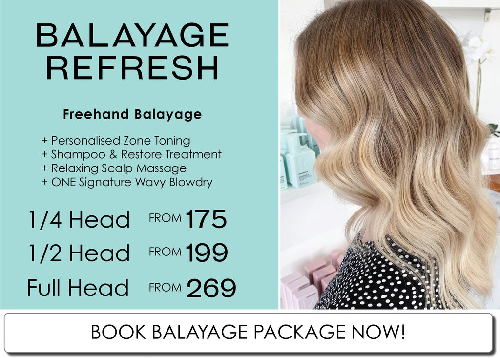 Perth Balayage Specialist Salon August Colour Refresh Package Special