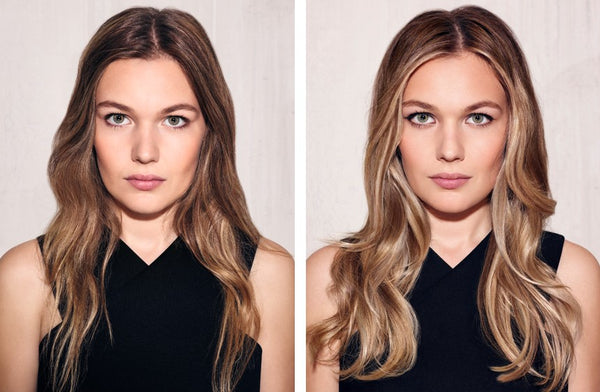 what is hair colour contouring