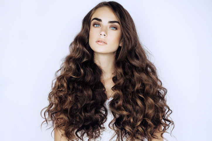 Hair extensions for volume thickness and length with Perths Premium luxury European hair extensions