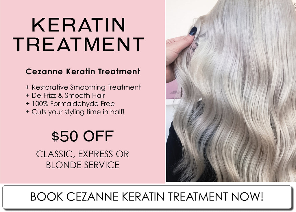 Perth Cezanne Smoothing Keratin Hair Treatment Special
