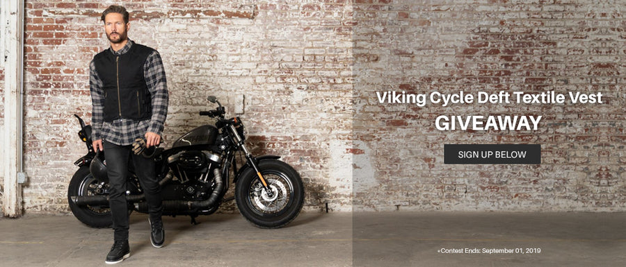 Viking Cycle Deft Textile Motorcycle Vest Giveaway