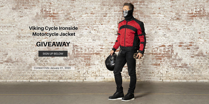 Viking Cycle Ironside Red Textile Jacket Giveaway