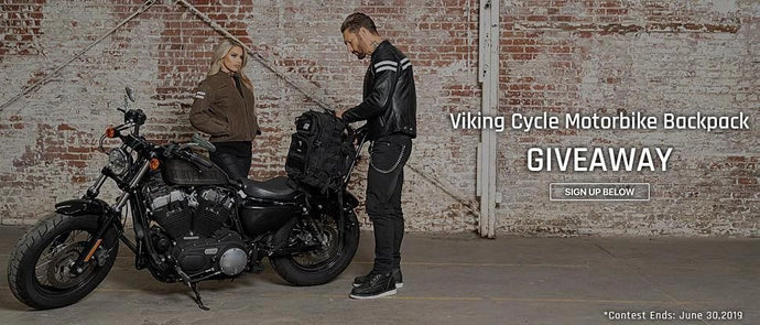 Viking Cycle Motorbike Backpack Giveaway