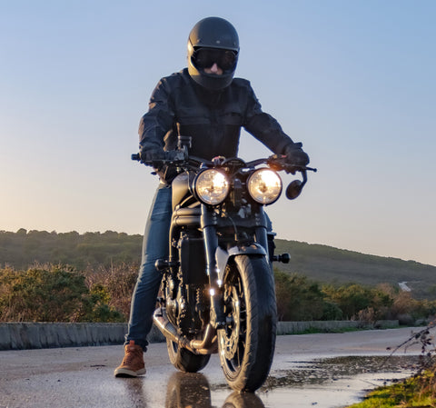 Wear proper motorcycle riding apparel