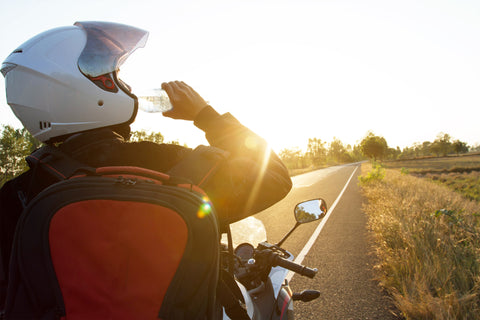 Stay Hydrated In Summer Motorcycle Ride