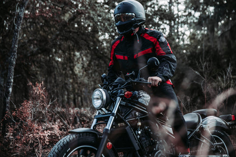 Viking Cycle Red Touring Jacket