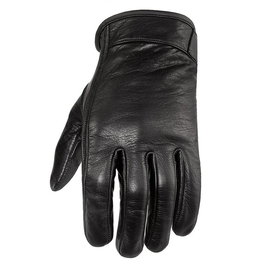Leather Textile Professional Gloves Motorcycle knuckles Protection Apparel White