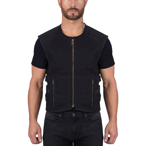 Viking Cycle Deft Textile Motorcycle Vest for Men