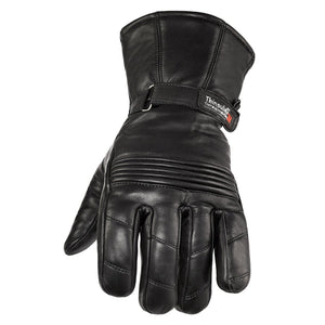 Viking Cycle Gauntlet Motorcycle Leather Glove for Women