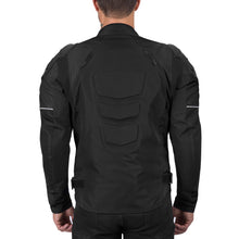 Viking Cycle Asger Black Textile Motorcycle Jacket for Men