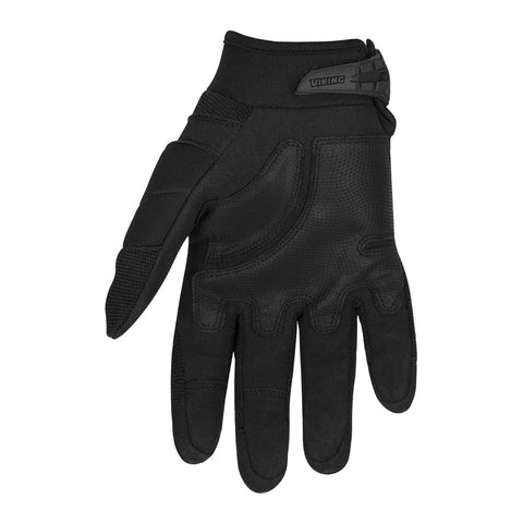 Viking Cycle Tactical Leather/Textile Motorcycle Gloves for Women