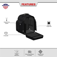 Nomad USA Dagr Motorcycle Sissy Bar Bag