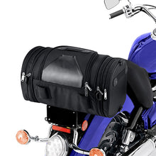 Nomad USA Axwell Motorcycle Expandable Universal Fit Sissy Bar Bag