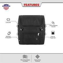 Nomad USA Economy Line Motorcycle Sissy Bar Bag