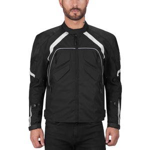 Viking Cycle Overlord Motorcycle Textile Jacket for Men