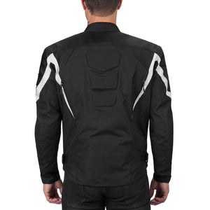 Viking Cycle Overlord Textile Motorcycle Jacket for Men