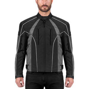 Viking Cycle Thor Textile Motorcycle Jacket for Men