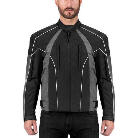 Viking Cycle Thor Motorcycle Textile Jacket for Men