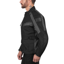 Viking Cycle Enforcer Gray Motorcycle Textile Touring Jacket for Men