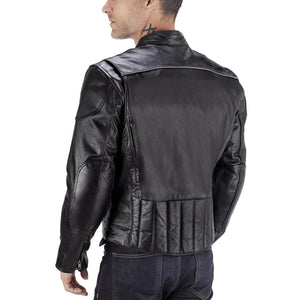 Viking Cycle Warrior 2.0 Motorcycle Leather Jacket for Men