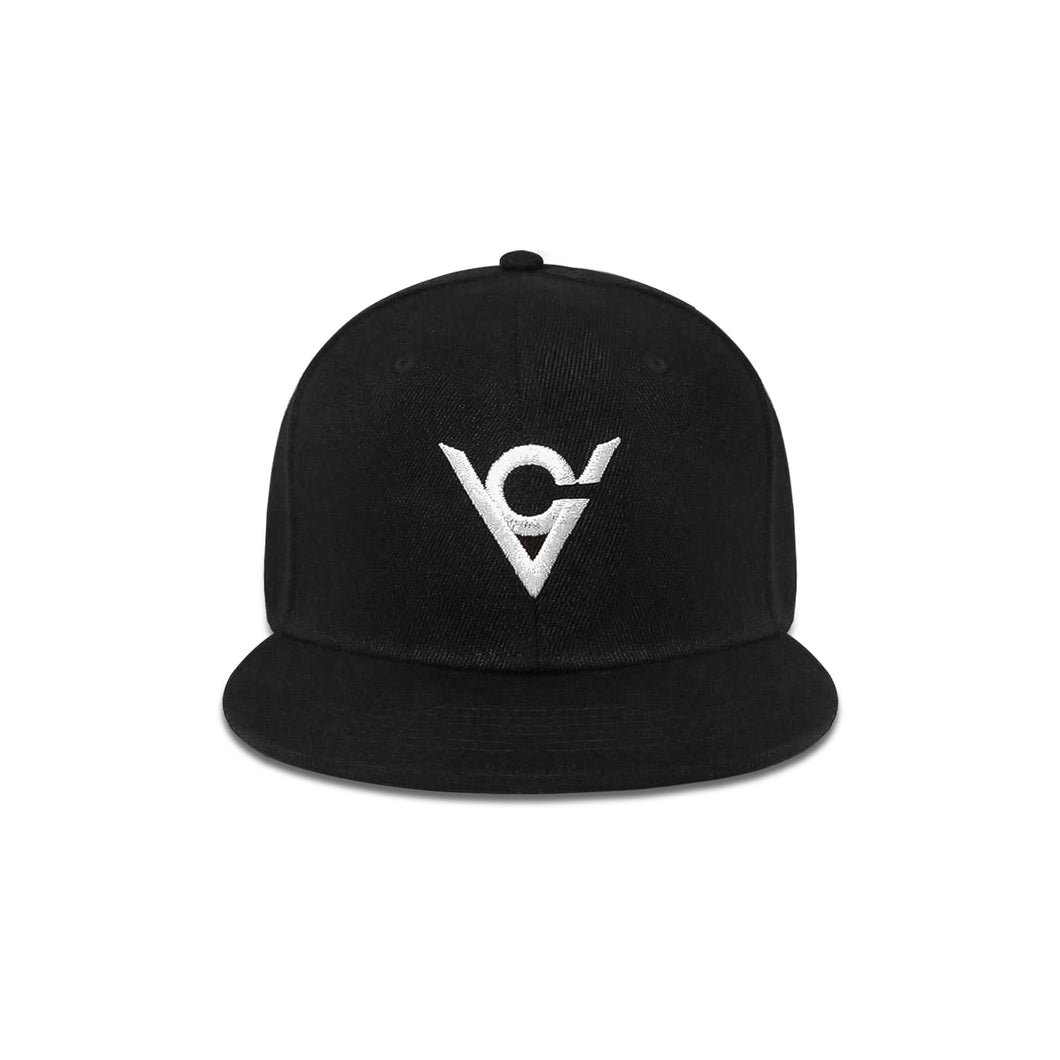 Viking Cycle Cap Snapback Black
