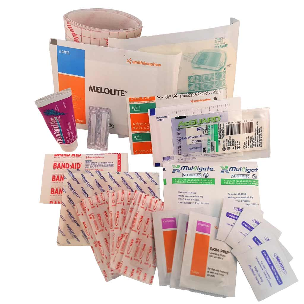 cuts and grazes first aid kit contents