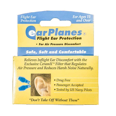 earplanes relieve ear discomfort on planes adult