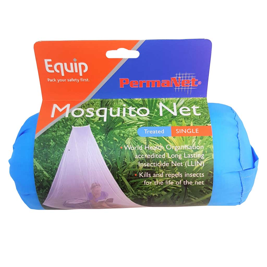 PermaNet® Traditional Single Longlife Insecticide Treated Bed Net Mosquito Net
