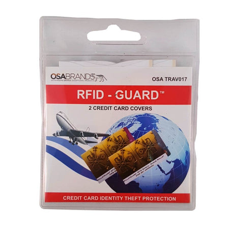 RFID blocking credit card sleeves pack of 2