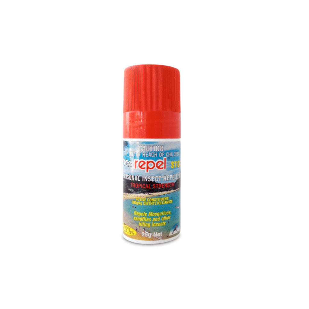 Repel Deet Insect Repellent 25g Stick The Travel Shop By Globe