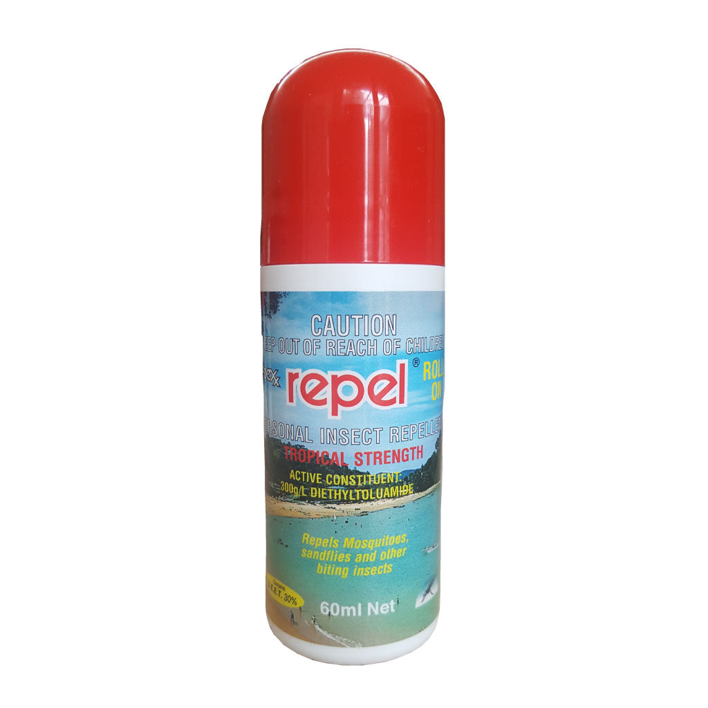repel deet tropical mosquito repellent roll on