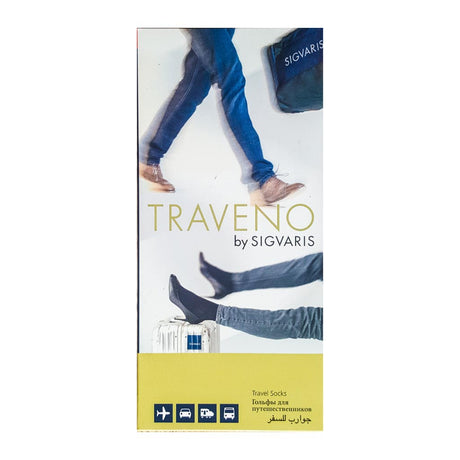 sigvaris traveno dvt sock in packaging