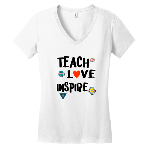 TEACH- LOVE- INSPIRE- T-Shirts