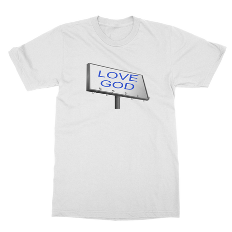LOVE GOD SIGN Classic Adult T-Shirt