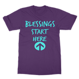 blessings start here f Classic Adult T-Shirt