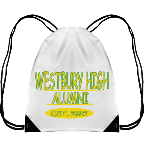 WESTBURY HIGH ALUMNI Drawstring Backpack
