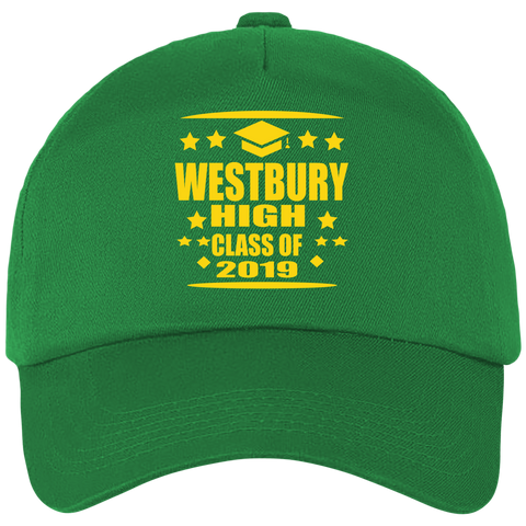 WESTBURY HIGH SCHOOL GREEN  CLASS OF 2019  Cap