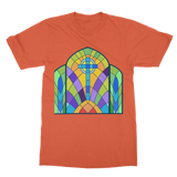 CHURCH WINDOW 1 Classic Adult T-Shirt