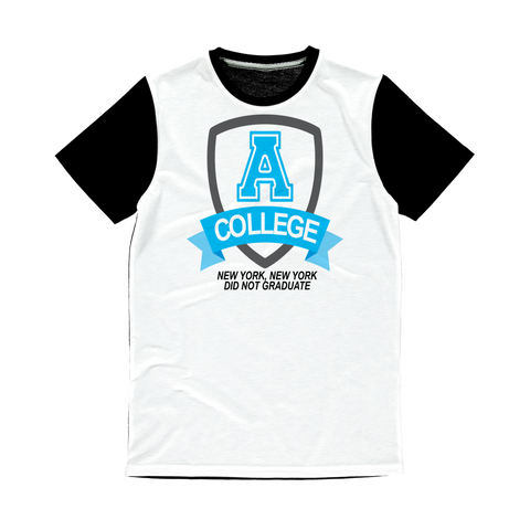 A COLLEGE Classic Sublimation Panel T-Shirt