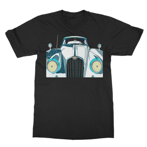 OLD SCHOOL CAR Classic Adult T-Shirt