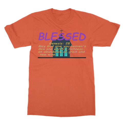 blessed 1 Classic Adult T-Shirt